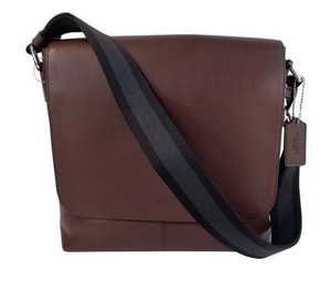 Coach Leather Crossbody Messenger Men's Shoulder Bag