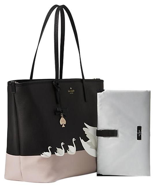Item - On Pointe Swan Harmony Msrp Black Taupe White Diaper Bag