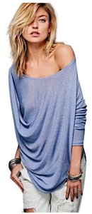 Free People T Shirt Blue/Periwinkle