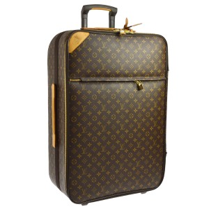 Louis Vuitton 65 Rolling Suitcase Monogram Travel Bag