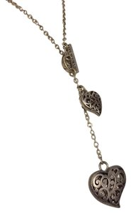 American Eagle Outfitters American Eagle Outfitters Live Your Life Heart Toggle Necklace