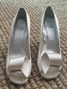 Stuart Weitzman Rollback Wedding Shoes