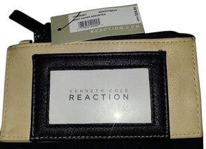 Kenneth Cole Reaction Credit Card Wallet - Black & Tan - New/Tags!