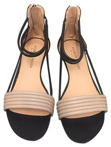 Julianne Hough for Sole Society French Taupe/Black Sandals