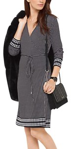 Michael Kors short dress Houndstooth Wrap Kors on Tradesy