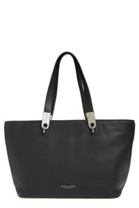 Marc Jacobs Pike Place Leather Tote in Black
