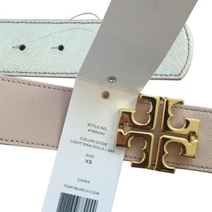 Tory Burch York Reversible Belt, Size XS