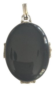 Other Sterling Silver Onyx Pendant