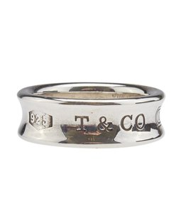 Tiffany & Co. Tiffany, Co, 1997, Sterling, Silver, Ring, Size, 6, 102069