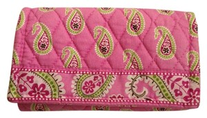 Vera Bradley Quilted trifold wallet