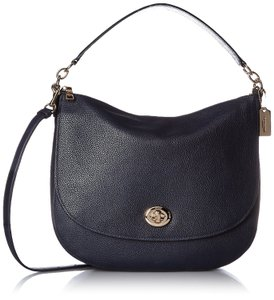 Coach Turnlock Hobo Bag