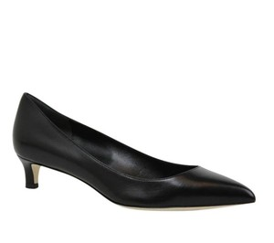 Gucci Pointed Toe Leather 353701 Black Pumps