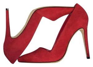 Alice + Olivia Red Pumps