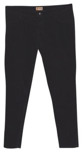 Mudd Velour Christmas Holiday Party Clubbing Skinny Pants Black