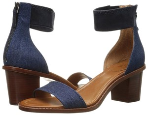 Frye Strappy Denim Sandals