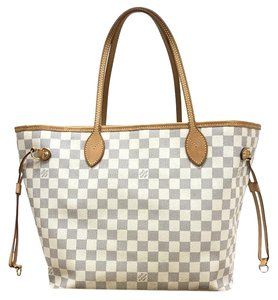 Louis Vuitton Azur Neverfull Tote
