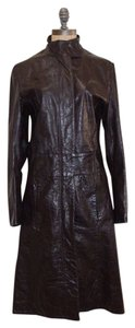 BDG Coat Leather BROWN Leather Jacket
