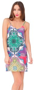 Yumi Kim short dress Multicolor Mosaic on Tradesy