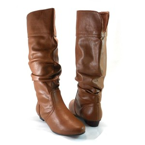 Candie's Bootie Boot Leather Brown Boots