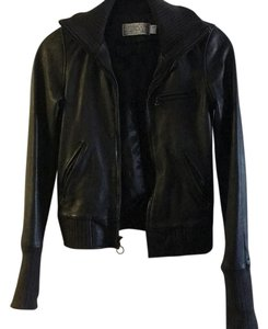 Simply halmos Leather Jacket