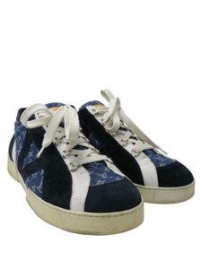 Louis Vuitton Lv Mens Sneakers Denim Athletic