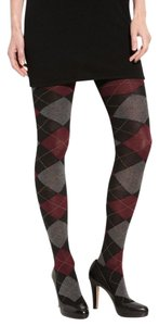 Hue Argyle Sweater Tights Size XS/S