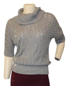 Michael Kors Cowl Neck Eyelet Sweater