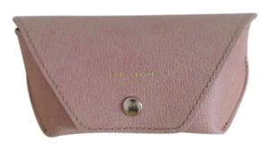 Kate Spade Reading Glass Case in Pink Pebbled Leather