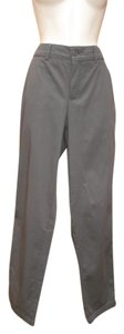 Vince Boyfriend Sateen Trousers Boyfriend Pants Dark Gray