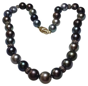 Princess Length Tahitian Pearl 14.2-12mm Necklace