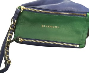 Givenchy Wristlet in Blue,green, Black