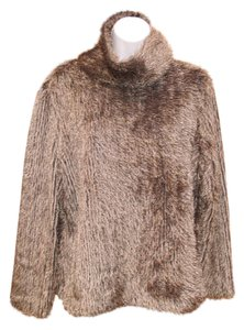 Joseph Ribkoff Turtleneck Eyelash Fuzzy Sweater