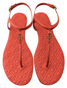 Tory Burch Marion Poppy Red Sandals
