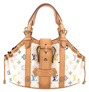 Louis Vuitton Theda Canvas Shoulder Bag