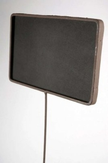 Save On Crafts Black Tall Chalk Boards A Metal Pole Other