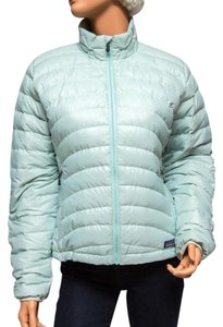 Patagonia Arctic Mint Insulated Ski Snow Goose Down Coat