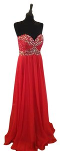 May Queen Prom Formal Strapless Dress