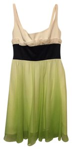 Jay Godfrey Ombre Flowy Green Dress