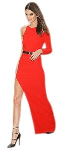 Halston Gown Maxi Edgy Dress