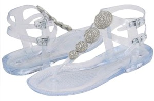 Juicy Couture Clear Sandals