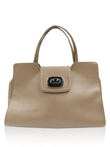 Love Moschino Satchel in Taupe