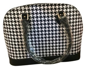 Other Tote in Black and White Houndstooth