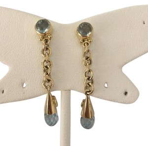 Other 14k Gold & Aqaumarine Earrings