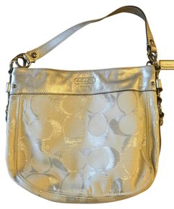 Coach Pleated Womens Hobo Bag