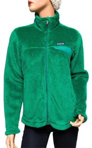Patagonia 25476 Fleece Re-tool Green Jacket