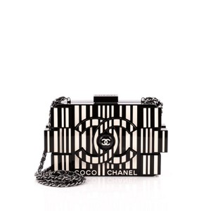 Chanel Clutch Plexiglass Shoulder Bag