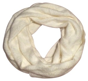 Other Cream White Infinity Scarf
