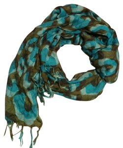 Other Blue Green Infinity Scarf