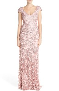 Theia Pink Petal Gown Wedding Dress