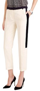 J.Crew Wool Straight Pants ivory
